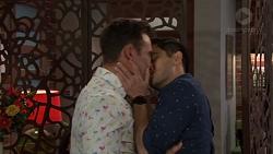 Aaron Brennan, David Tanaka in Neighbours Episode 7654