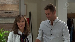 Fay Brennan, Mark Brennan in Neighbours Episode 7655