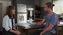 Fay Brennan, Tyler Brennan in Neighbours Episode 7655