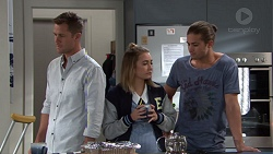 Mark Brennan, Piper Willis, Tyler Brennan in Neighbours Episode 7655