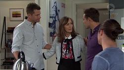 Mark Brennan, Fay Brennan, Aaron Brennan, Tyler Brennan in Neighbours Episode 7656