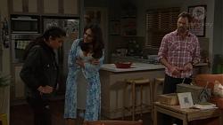 Yashvi Rebecchi, Dipi Rebecchi, Shane Rebecchi in Neighbours Episode 7658