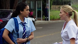 Yashvi Rebecchi, Xanthe Canning in Neighbours Episode 7658