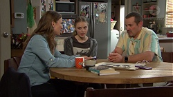 Amy Williams, Willow Bliss, Toadie Rebecchi in Neighbours Episode 7658
