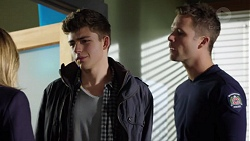 Evan Lewis, Mark Brennan in Neighbours Episode 7658
