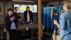 David Tanaka, Jack Callaghan, Leo Tanaka, Steph Scully in Neighbours Episode 7659