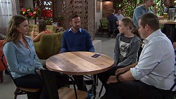 Amy Williams, Fergus Olsen, Willow Bliss, Toadie Rebecchi in Neighbours Episode 7659