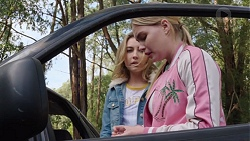 Piper Willis, Xanthe Canning in Neighbours Episode 7659
