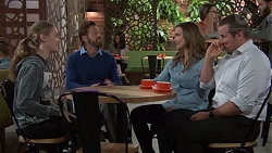 Willow Bliss, Fergus Olsen, Amy Williams, Toadie Rebecchi in Neighbours Episode 7659