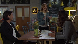 Leo Tanaka, Piper Willis, Elly Conway in Neighbours Episode 7659