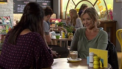 Dipi Rebecchi, Steph Scully in Neighbours Episode 7660