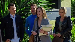 Jack Callaghan, Aaron Brennan, Sonya Mitchell, Steph Scully in Neighbours Episode 7660