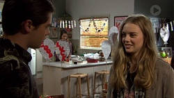 Ben Kirk, Dipi Rebecchi, Willow Bliss in Neighbours Episode 7660