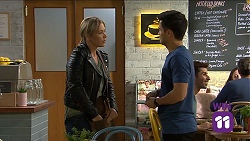 Steph Scully, David Tanaka in Neighbours Episode 7661