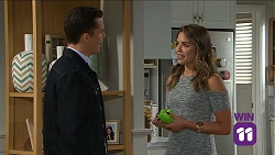 Jack Callaghan, Paige Novak in Neighbours Episode 7661