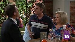 Paul Robinson, Gary Canning, Sheila Canning in Neighbours Episode 7661