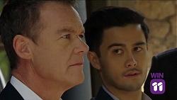 Paul Robinson, David Tanaka in Neighbours Episode 7661