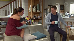 Elly Conway, Mark Brennan in Neighbours Episode 7662
