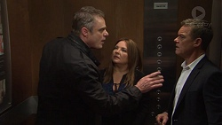 Gary Canning, Terese Willis, Paul Robinson in Neighbours Episode 7662