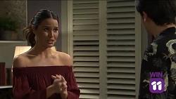 Elly Conway, Ben Kirk in Neighbours Episode 7663