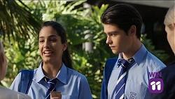 Yashvi Rebecchi, Ben Kirk in Neighbours Episode 7663