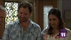 Karl Kennedy, Shane Rebecchi, Dipi Rebecchi in Neighbours Episode 7663