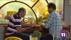 Karl Kennedy, Shane Rebecchi in Neighbours Episode 7663