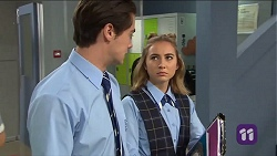 Ben Kirk, Piper Willis in Neighbours Episode 7663