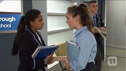 Kirsha Rebecchi, Tia Martinez in Neighbours Episode 7663
