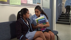Kirsha Rebecchi, Yashvi Rebecchi in Neighbours Episode 7664