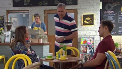 Sonya Mitchell, Karl Kennedy, Aaron Brennan in Neighbours Episode 7664