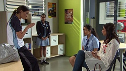 Elly Conway, Kirsha Rebecchi, Yashvi Rebecchi, Dipi Rebecchi in Neighbours Episode 7664