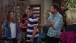 Sonya Rebecchi, Karl Kennedy, Shane Rebecchi, Sheila Canning in Neighbours Episode 7665