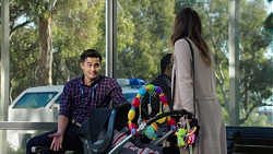 David Tanaka, Paige Smith in Neighbours Episode 7665