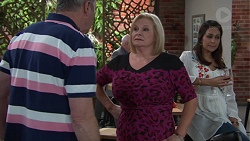 Karl Kennedy, Sheila Canning, Dipi Rebecchi in Neighbours Episode 7665