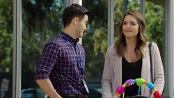 David Tanaka, Paige Novak in Neighbours Episode 7665