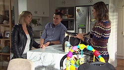 Steph Scully, Jack Callaghan, Paige Novak in Neighbours Episode 7666