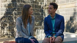 Amy Williams, Nick Petrides in Neighbours Episode 7666