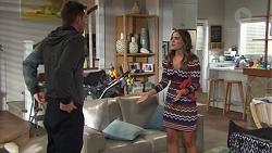 Mark Brennan, Paige Novak in Neighbours Episode 7666