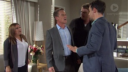 Terese Willis, Paul Robinson, Gary Canning, Nick Petrides in Neighbours Episode 7667