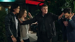 Leo Tanaka, Amy Williams, Gary Canning, Nick Petrides in Neighbours Episode 7667