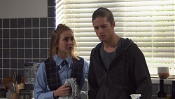 Piper Willis, Tyler Brennan in Neighbours Episode 7668
