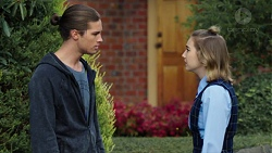 Tyler Brennan, Piper Willis in Neighbours Episode 7668