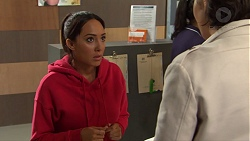 Mishti Sharma, Leo Tanaka in Neighbours Episode 7668