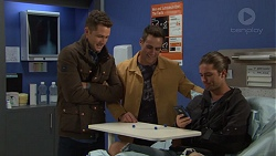 Mark Brennan, Aaron Brennan, Tyler Brennan in Neighbours Episode 7668