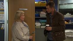 Sheila Canning, Mark Brennan in Neighbours Episode 7669
