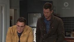 Aaron Brennan, Mark Brennan in Neighbours Episode 7669