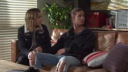 Piper Willis, Tyler Brennan in Neighbours Episode 7669