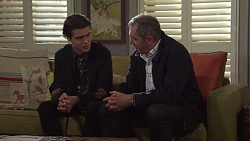 Ben Kirk, Karl Kennedy in Neighbours Episode 7669