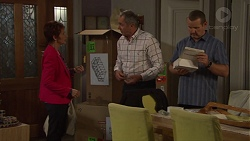 Susan Kennedy, Karl Kennedy, Toadie Rebecchi in Neighbours Episode 7669